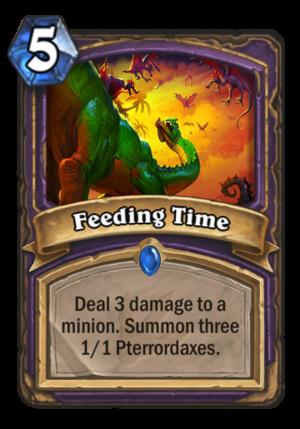 Feeding Time Card