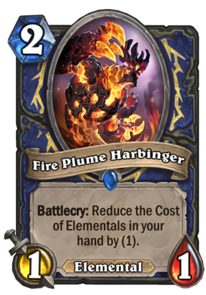 Fire Plume Harbinger Card