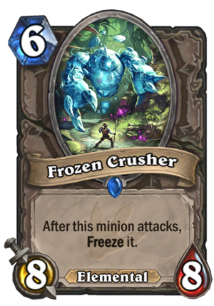 Frozen Crusher Card