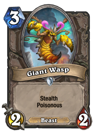 Giant Wasp Card