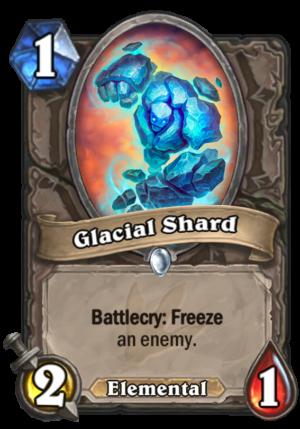 Glacial Shard Card