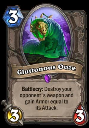Gluttonous Ooze Card