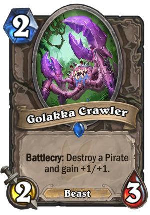 Golakka Crawler Card