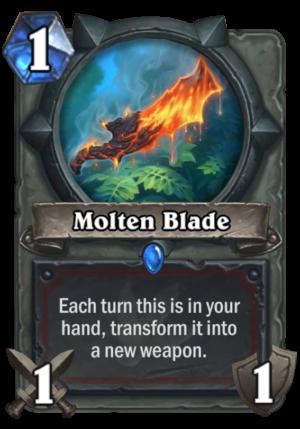 Molten Blade Card