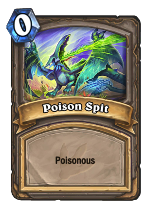 Poison Spit Card