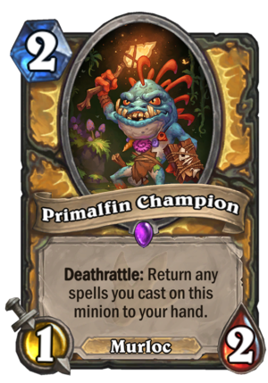Primalfin Champion Card