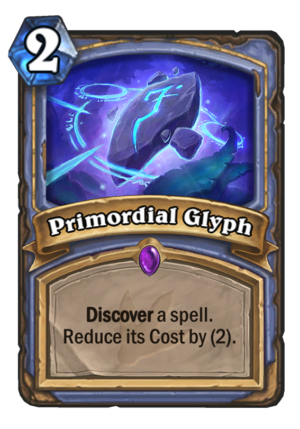 Primordial Glyph Card