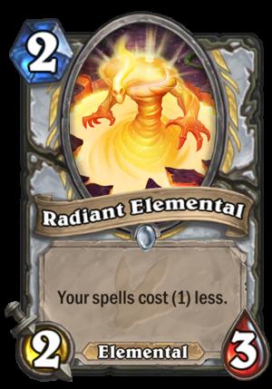 Radiant Elemental Card