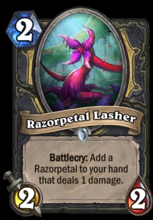 Razorpetal Lasher Card