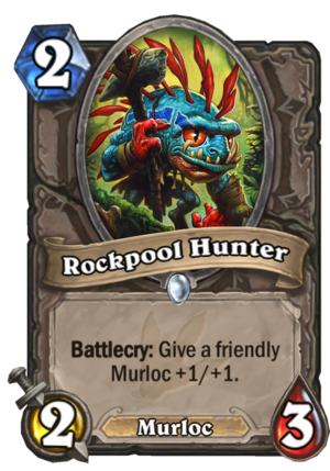 Rockpool Hunter Card