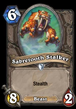 Sabretooth Stalker Card