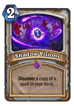 Shadow Visions Card