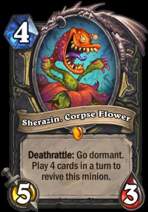 Sherazin, Corpse Flower Card