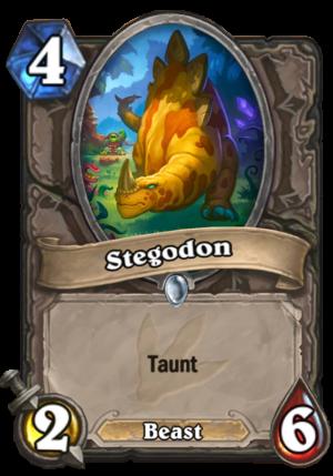 Stegodon Card