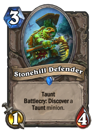 Stonehill Defender Card