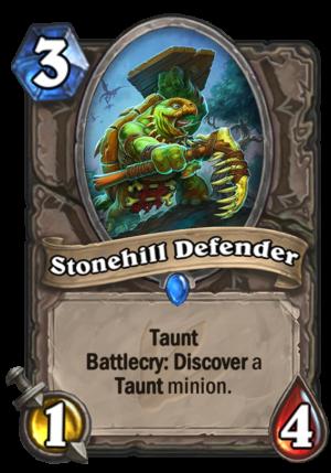 Stonehill Defender Card