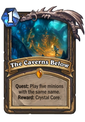 The Caverns Below Card