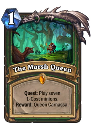 The Marsh Queen Card