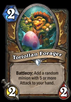 Tortollan Forager Card