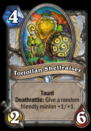 Tortollan Shellraiser Card