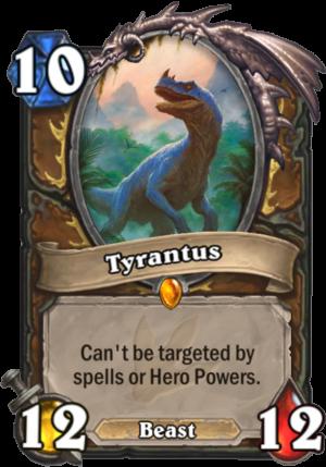 Tyrantus Card