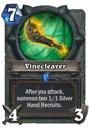 Vinecleaver Card