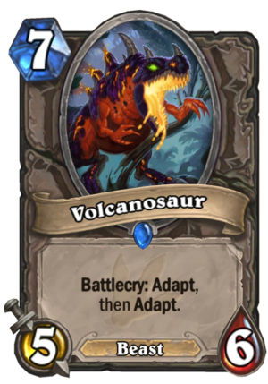 Volcanosaur Card