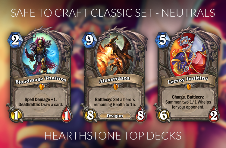 best legendaries to craft hearthstone crafting guide for the journey to un goro meta 3441