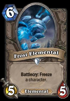 Frost Elemental Card