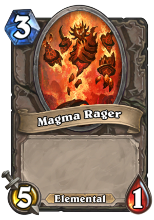 Magma Rager Card