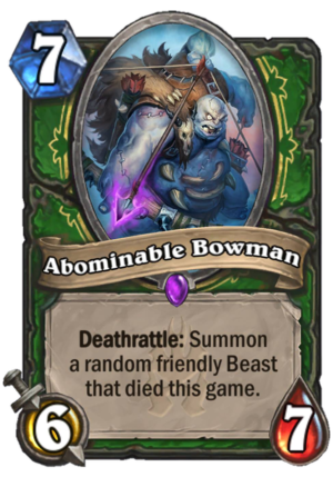 Abominable Bowman Card