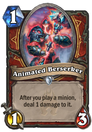 Animated Berserker Card