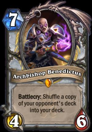 Archbishop Benedictus Card