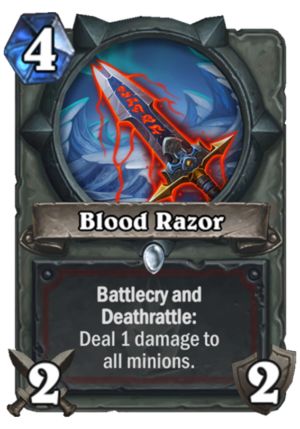 Blood Razor Card