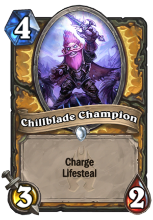 Chillblade Champion Card