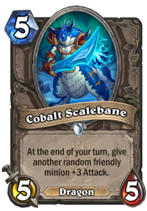 Cobalt Scalebane Card