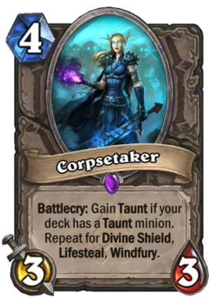 Corpsetaker Card