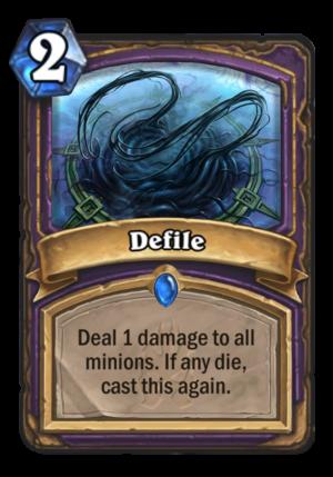 Defile Card
