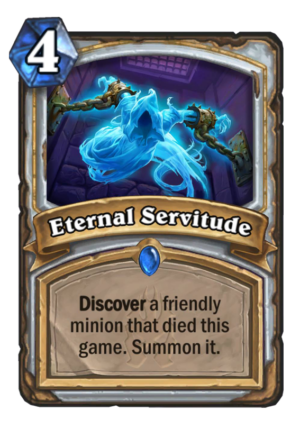 Eternal Servitude Card