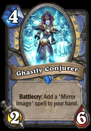 Ghastly Conjurer Card