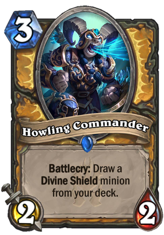 Howling Commander - Hearthstone Card - Hearthstone Top Decks