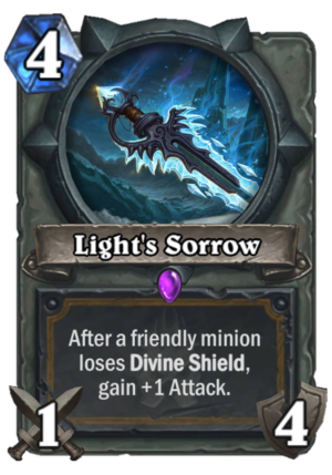 Light's Sorrow Card