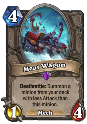 Meat Wagon Card