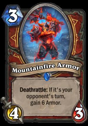 Mountainfire Armor Card