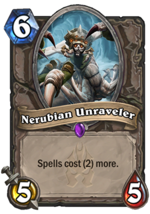 Nerubian Unraveler Card