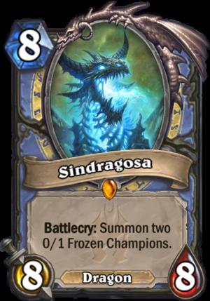 Sindragosa Card
