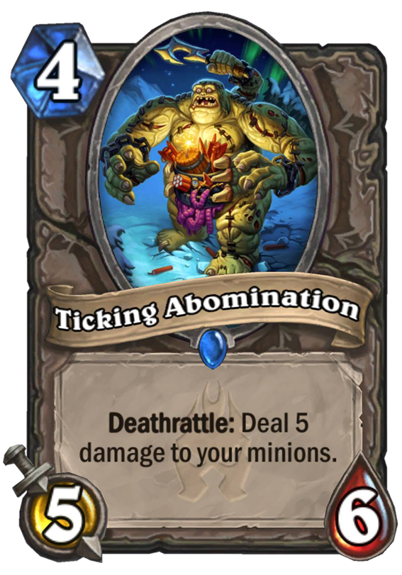 Ticking Abomination - Hearthstone Card - Hearthstone Top Decks