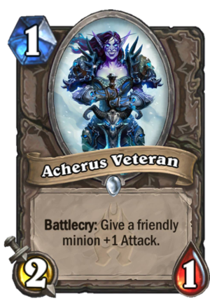 Acherus Veteran Card