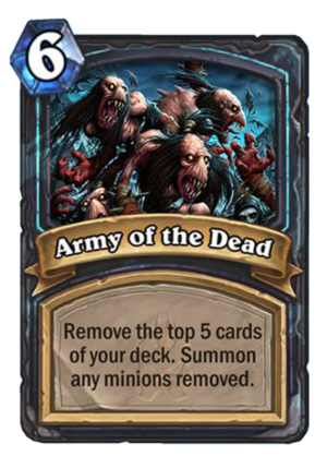 Army of the Dead Card