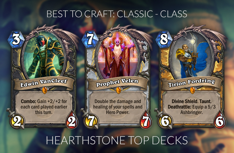 best legendaries to craft hearthstone legendary crafting guide standard kobolds 3441